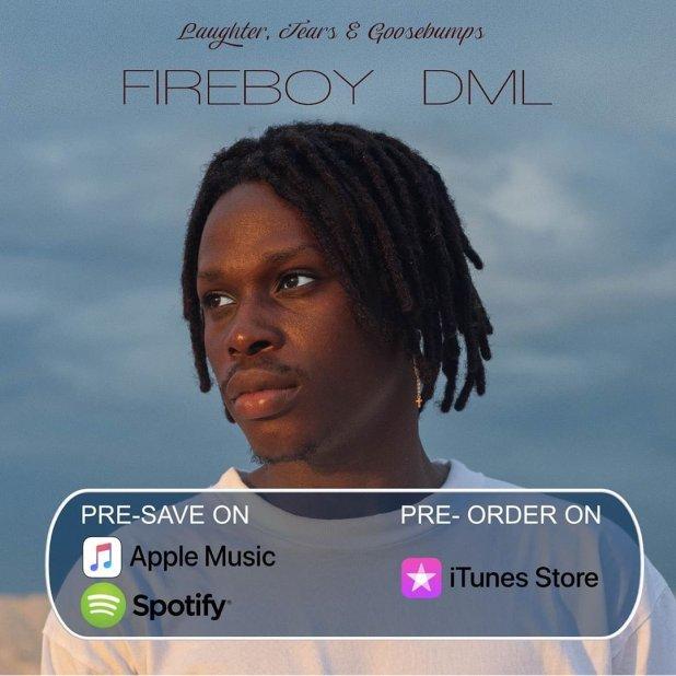Fireboy DML unveils tracklist of his debut album
