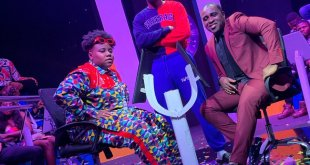 """Teni Pictured With Frank Edoho in """"Billionaire"""" video BTS (See Photo)"""