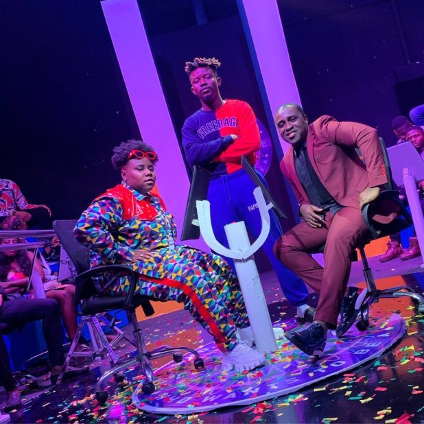 Teni Pictured With Frank Edoho in
