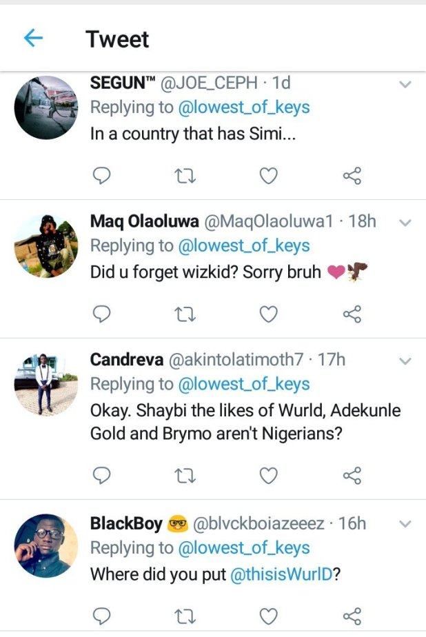 Peruzzi is the Best Songwriter in Nigeria – Man Brags on Twitter