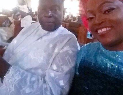 BREAKING! Actress Funke Akindele's Father is Dead