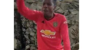 Man U Fans Praying For Their Club in a Mountain (SEE VIDEO)