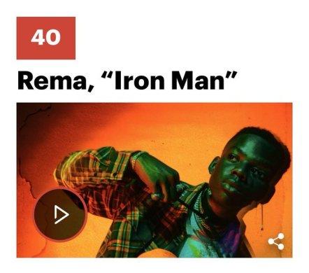 Rema Iron man
