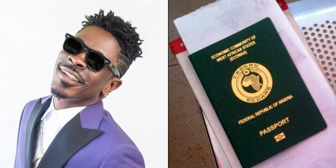 """Proud Naija Boy"" – Shatta Wale Denounce Ghana, Accepts Nigerian Passport"