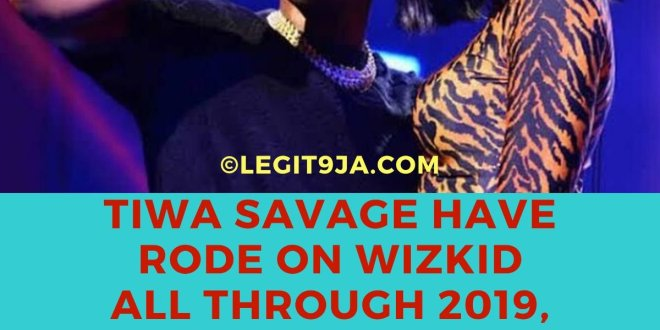Tiwa Savage Have Rode on Wizkid all Through 2019, Has She Lost Creativity in Independence?