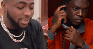 'Today your life don change' – Davido tells upcoming rapper Ajaa