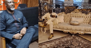Senator Dino Melaye shows off his multi million naira mansion (SEE PHOTOS)