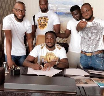Goldenboy Ent VS DMW: Davido Responds to Peruzzi Breach of Contract