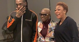 Burna Boy and His Mother spotted with Angelique Kidjo