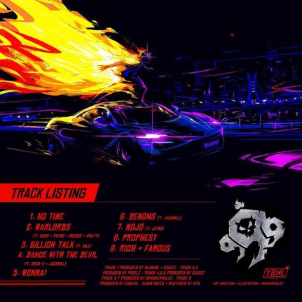 Olamide Unveils Artwork and Track list of his Forthcoming EP '999'