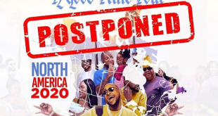 "DUKE CONCEPT ENTERTAINMENT POSTPONES DAVIDO'S ""A GOOD TIME"" MARCH/APRIL TOUR"