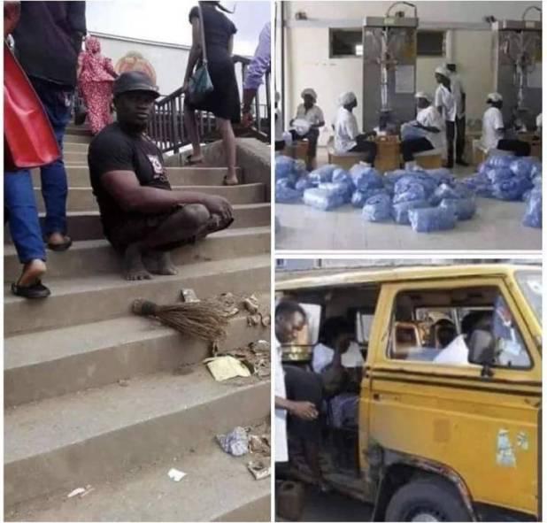 Richesr beggar in Nigeria
