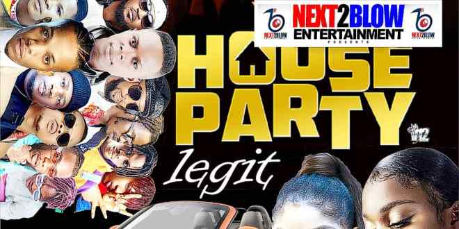 MIXTAPE: Dj Bollombolo - House Party Legit