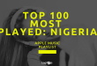 Top 100 Most Played: Nigeria Apple Music Playlist