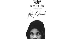 EMPIRE Record acquires Kizz Daniel with a new Deal