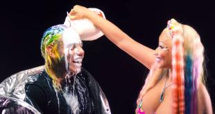 "6ix9ine and Nicki Minaj Premiere New Video ""Trollz"""