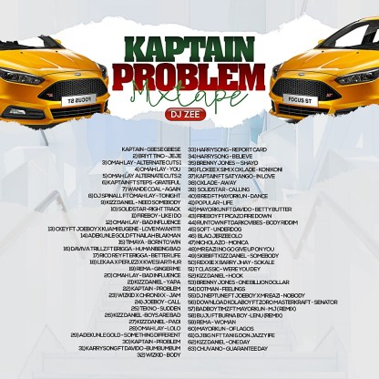 DJ Zee - Problem Mix Tracklist IMG
