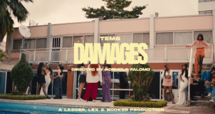 Tems – Damages Video