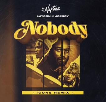 DJ Neptune Ft. Joeboy x Laycon – Nobody (Icon Remix)