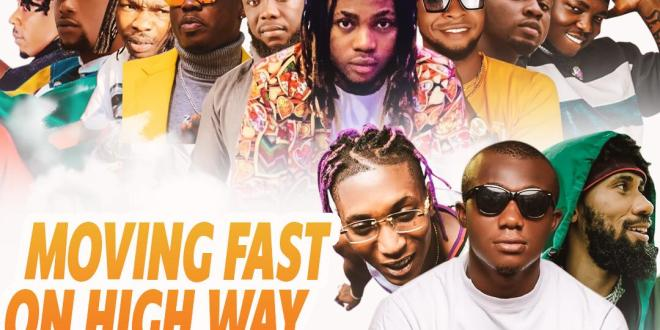 DJ Gambit - Moving Fast On High Way Mixtape