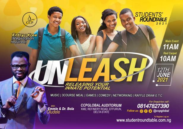"""Student Round Table 2021 tagged """"Unleash"""" Is Here, Bigger And Better."""