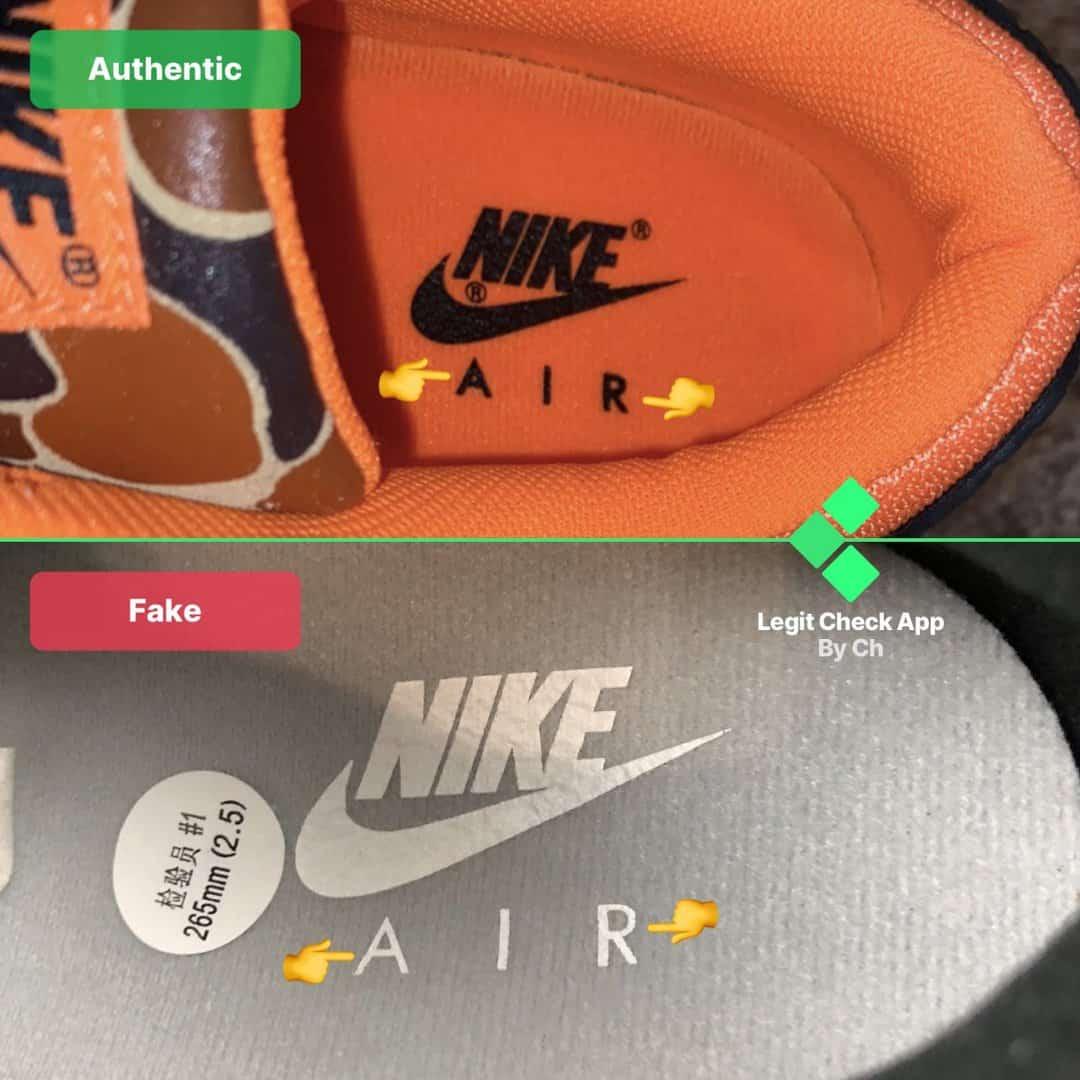 how to spot fake nike air max 90 fake