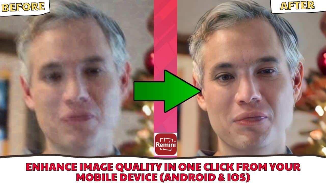 how to enhance a photo using remini photo enhancer legit hacks