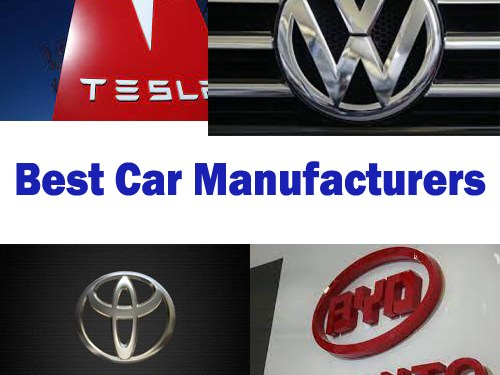 Best Automobile manufacturers In The World