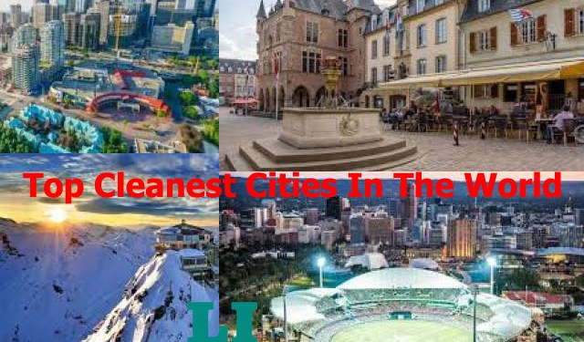 world Cleanest Cities