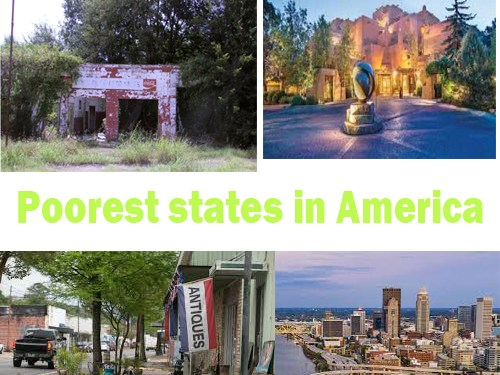 Poorest States In US 2021