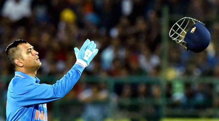 MS Dhoni steps down as India's limited-overs captain