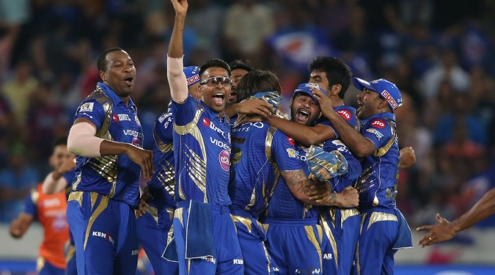 Mumbai Indians Wins IPL 2017 by a Whisker