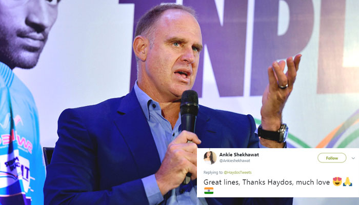 Matthew Hayden Posts English Version of India's National Anthem, Wins Hearts
