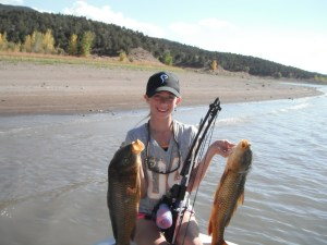 Bowfishing and not one but two carp.
