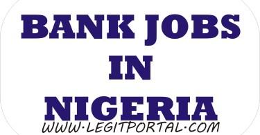 bank jobs in Nigeria