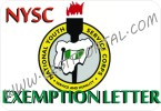 nysc exemption letter