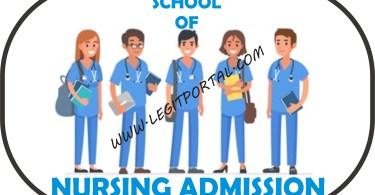 School of Nursing Admission Form in Nigeria