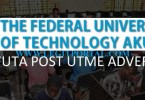 FUTA Federal University of Technology Akure