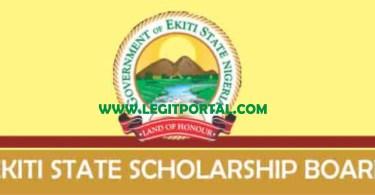 Ekiti State Scholarship Bursary