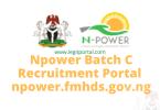 npower.fmhds.gov.ng portal