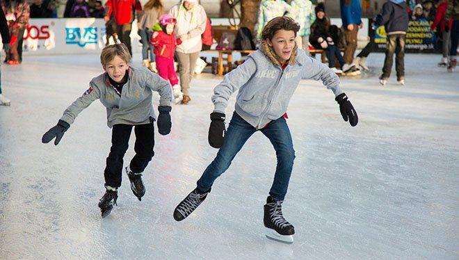 Drenge skøjteløb