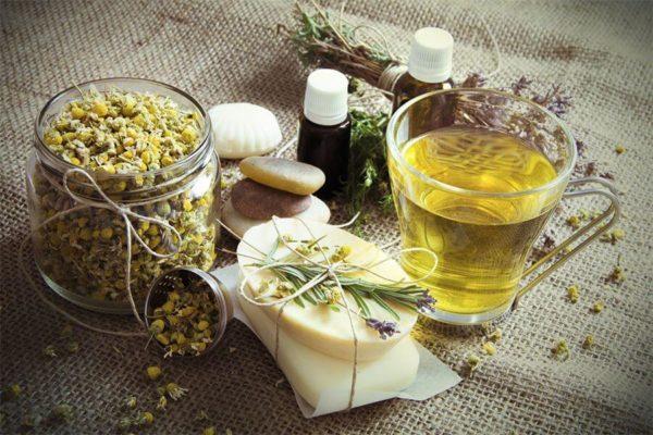 Ingrediënten voor de vervaardiging van zeep thuis