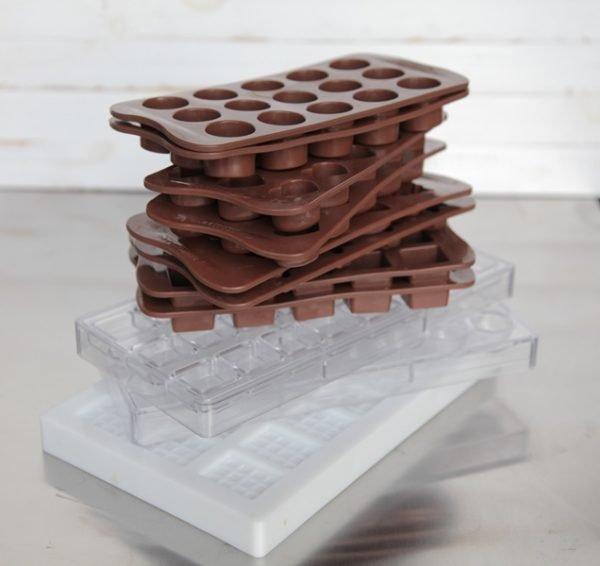 formák csokoládéhoz