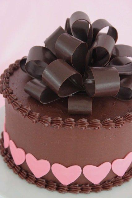 torta csokoládé íjjal
