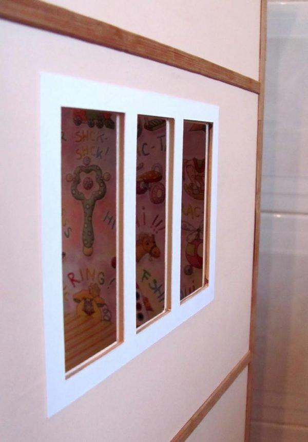 Okna panenky