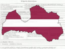 Статистика оформления - приглашения и вызовы в Латвии за 2012 год