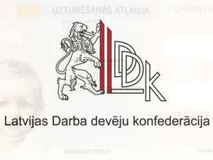 пресс-конференцию LDDK в поддержку выдачи внж для инвестовров в Латвии