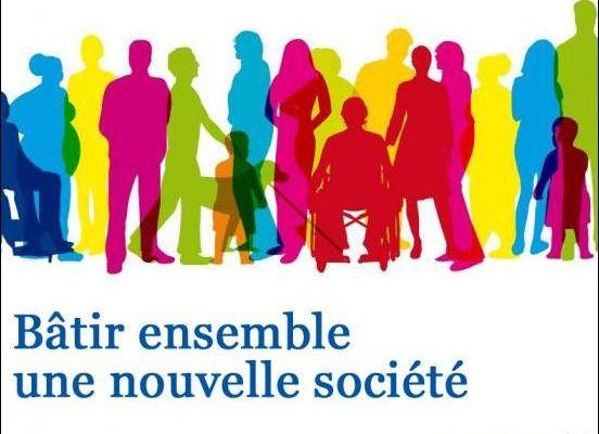 Une des affiches de communication du parti Jeunes