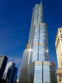 Trump Tower - Chicago Mars 2016
