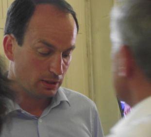 Guillaume Chevrollier, le député sortant et battu